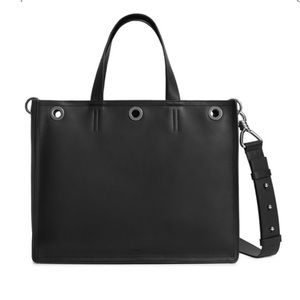 ALLSAINTS Captain East/West Medium Leather Tote